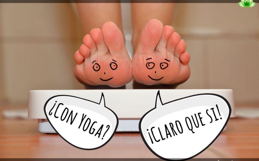 ¡Perder peso a través del yoga! Te contamos como