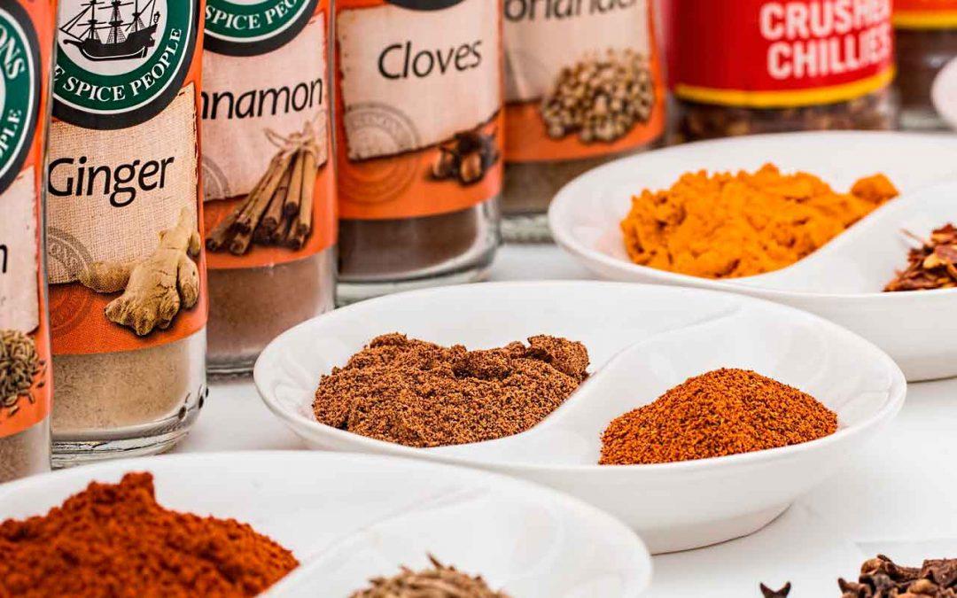 Especias saludables ¡Medicinas en tu cocina!