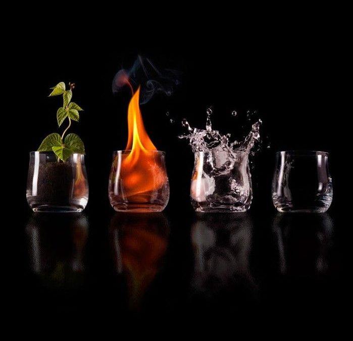 Tierra, Agua, Fuego y Aire: los 4 elementos y tu salud