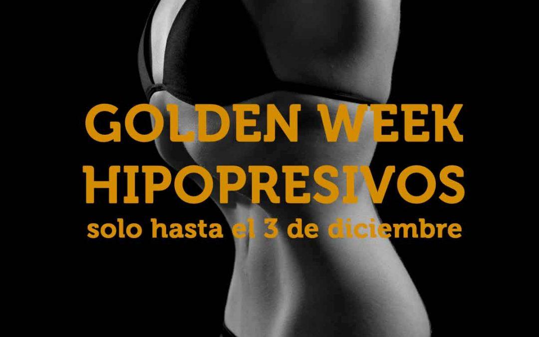 Descuento en Hipopresivos: Golden Week el 3/12