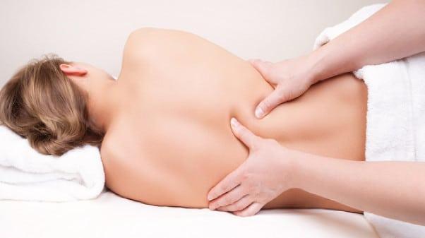 Masaje corporal embarazadas