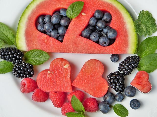 Comida sana para una nutrición balanceada